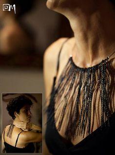 Laboratorio Magma, Tea necklace (plastic)