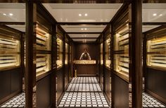 Foxglove by NC Design & Architecture - A speakeasy in Hong Kong disguised as an umbrella shop. Way cool!