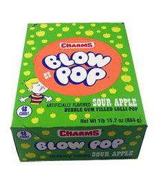 There are 48 lollipops per box. Delicious sour apple flavor coating with bubble gum inside. Pop Bubble, Bubble Gum, Skippy Peanut Butter, Crunch Cereal, Best Candy, Creepy Halloween, Jelly Beans, Coca Cola, Bubbles