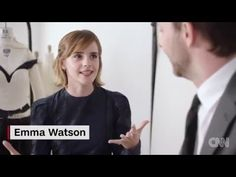 Emma Watson dons dress made of this (Met Gala 2016) - YouTube