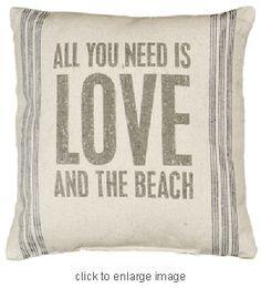 Vintage Linen Sack Pillows
