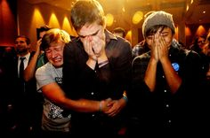what a great election year. image: voters' reactions to rejected proposal to ban gay marriage.