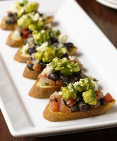 http://cookingwithchris.com/recipe/avocado-and-black-bean-crostini/