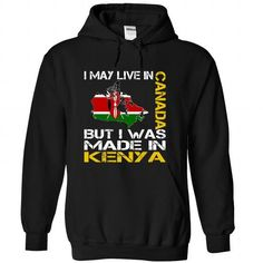 I May Live in Canada But I Was Made in Kenya (Yellow) - #gift ideas #gift bags. ORDER HERE => https://www.sunfrog.com/States/I-May-Live-in-Canada-But-I-Was-Made-in-Kenya-Yellow-uakhddjtqx-Black-Hoodie.html?68278