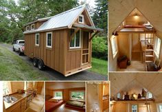 Tiny house.  This is so intriguing...but we'd need 3 of them to fit all of us!