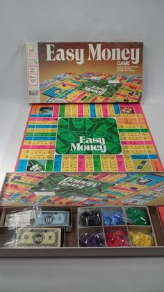Easy Money - VINTAGE Board Game - Great Condition! Highly Collectable!  BUY NOW! #MiltonBradley