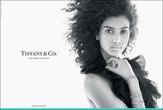 Tiffany FW2015 featuring Imaan Hamaam