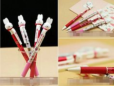 New Arrival 2pcs Korean Style Miffy Bunny Ballpoint Pens M&G http://www.amazon.com/dp/B00QSV317O/ref=cm_sw_r_pi_dp_F4Lzvb1DSEAJ5