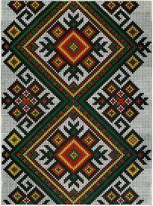 155 старинных украинских вышивок