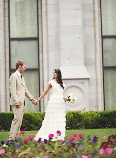 bescheidene Hochzeit