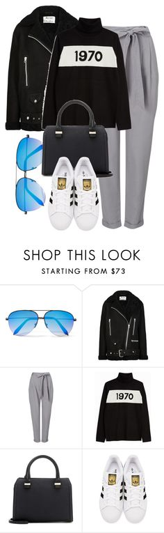 """""""Acne x VB"""" by muddychip-797 ❤ liked on Polyvore featuring Victoria Beckham, Acne Studios, Phase Eight, Bella Freud, adidas Originals, casual, acnestudios, fashionset and errands"""