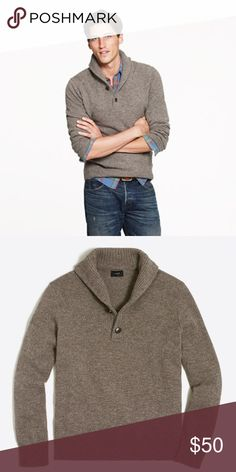 Jcrew Cowl Neck Shawl-Collar Sweater Lambswool PRODUCT DETAILS Lambswool. Dry clean. Import. Item 21943. Sold out online. Like new condition! J. Crew Sweaters
