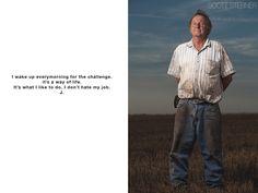 Kansas Farmer Photographs