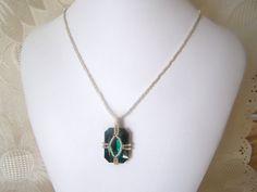 Swarovski Crystal Emerald Seed Beaded by lindasoriginaljewels, $20.00
