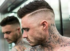awesome 45 Powerful Comb Over Fade Hairstyles - Comb On Over!