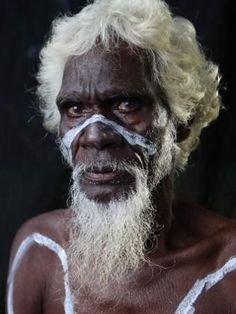 Aboriginal elder | Australia | wisdom | dreamtime | war paint | indigenous australians | we are sorry