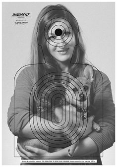 innocent targets posters aim to put an end to gun violence