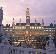 Christmas day Vienna