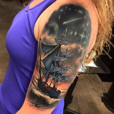 pirate tattoos | Fake Pirate Tattoo Sleeve By Anouk Goodson On DeviantArt