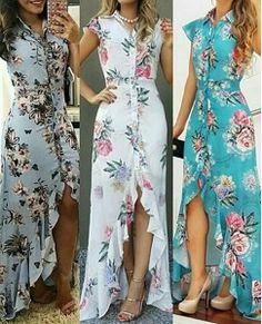 Ideas Dress Long Simple Patterns For 2019 Dresses For Teens, Trendy Dresses, Elegant Dresses, Fall Dresses, Nice Dresses, Casual Dresses, Short Dresses, Dress Long, Wedding Dresses
