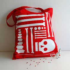 Bag Of Bones Tote Bag - bags & cases