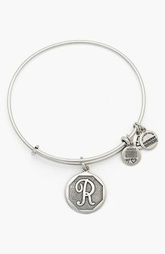 alex and ani 'r' initial