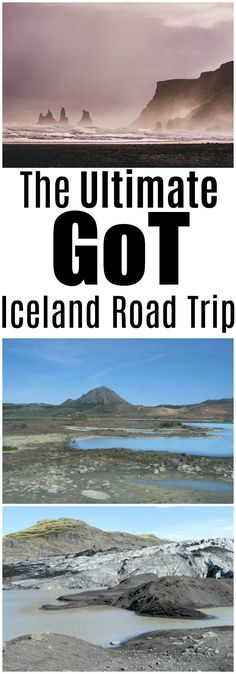 The Ultimate Game of Thrones Iceland Road Trip - travel itinerary for DIY Game of Thrones tour of Iceland