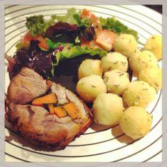 borrego recheado * stuffed lamb