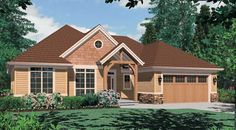 Pendleton House Plan-efficient use of space meeting most of our criteria