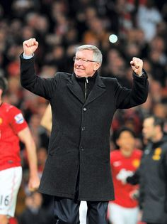 Manchester United Manager Sir Alex Ferguson will retire at the end of this season as perhaps the greatest manager in the history of English football, maybe the greatest manager in the world. Well done, Sir Alex, we will miss you! Glory, glory to Manchester United and Sir Alex!