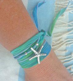 silk wrap starfish bracelet~~~