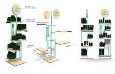 Paul Mitchell Tea Tree Display - Godett Design