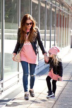 #leatherjacked #fashion #mumandbaby #babyfashion