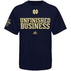 adidas Notre Dame Fighting Irish Go-To T-Shirt - Navy Blue