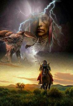 Indian Shaman (Bottom Half- Robert Duncan (b,1952)- Scout, 2013)