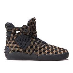the best attitude b897f ca4b3 SUPRA SKYTOP IV   OLIVE DRAB BLACK - BLACK   Official SUPRA Footwear Site  Zapatos