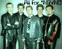 Everyone loved *NSYNC in the '90s. Lol