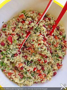 Bulgur-Granatapfel-Salat
