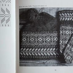 Lappone: Hat from Dalbo, Gotland - in twined knitting