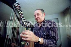 Hugo Blanco, fue  músico, compositor, intérprete, productor y arreglista venezolano, autor de varias de las composiciones de trayectoria mundial mejor conocidas internacionalmente y considerado uno de los mejores arpistas del mundo. Falleció el 14 de Junio, 2015. Foto: AF/Grupo Últimas Noticias