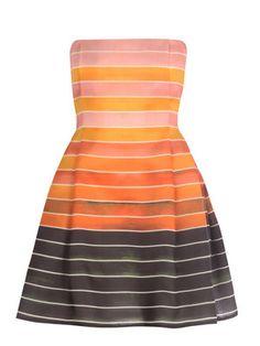 Stunning Stripes: Sunset Dress