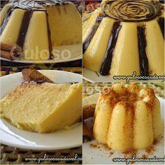 Bora fazer um Flan de Milho Verde hoje? É delicioso e vai encantar!!!  #Receita aqui:http://zip.net/bhpHny