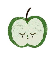 andreakang: Sad Apple