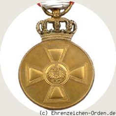 Prussia - UK. German States.  Red Eagle Order medal 3. Form 1908 Donated: 18th May 1842 by King Frederick William IV. 1871 probably orally by Wilhelm I. Awarded: 1871-1917