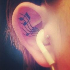 Keep your music close. #tattoo