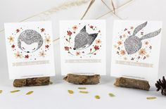 Woodland Creatures Bookplates | Whimsy Whimsical