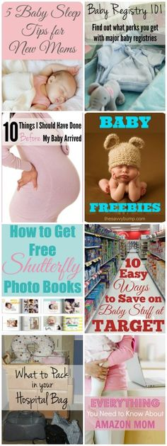 This long list of pregnancy freebies and free baby stuff for expecting mothers will save you money before and after your baby is born. Pampers Rewards, Pregnancy Freebies, Baby Coupons, Baby Boy Themes, Target Baby, Amazon Baby, Preparing For Baby, Baby Makes, Baby Sleep