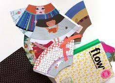 Flow Magazine : des poupées à fabriquer (+ résultat concours)   Eloely