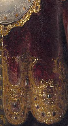 Bellona, Rembrandt van Rijn, 1633, detail