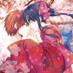 Himura Kenshin & Kamiya Kaoru | Rurouni Kenshin  (heckyeahruroken: 剣心誕漫画とログ2…